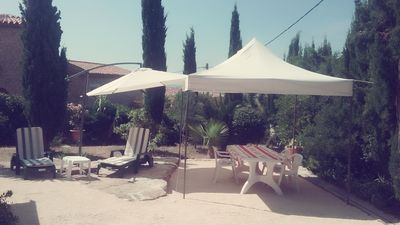 Photo for T1 3 persons terrace and garden 150m2
