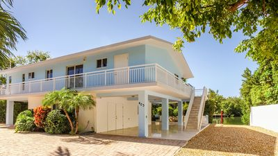Photo for Canal Front - Lower Matecumbe Key Peaceful Retreat with Heated Pool and Dock