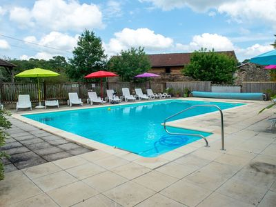 Photo for Delux Holiday Home in Lacapelle-Biron with Swimming Pool