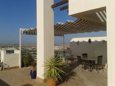 Photo for Duplex penthouse with fantastic terrace and garage, in the historic center of Jerez