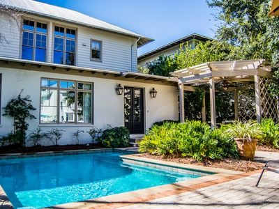 Photo for Costa Verde, 30A Cottages, Reduced Spring Rates, Private Spacious Courtyard w/ Pool, 4 Bikes!