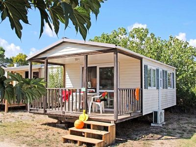 Photo for Camping La Prairie *** - Mobile home Marina 3 Rooms 4 Persons