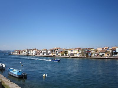 Photo for SETE, POINT SHORT FISHERMAN'S HOUSE, SMALL POND TYPICAL PORT