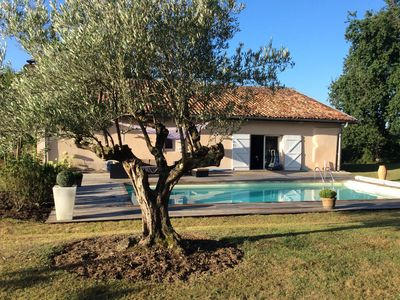 Photo for luxury villa (about 200 m²) with heated pool and spa