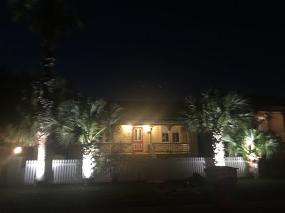 Beautiful night view of Seabreeze Bungalow