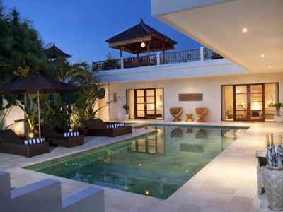 Photo for Puri Temple 3 Bedroom,Echo Beach Canggu, Chef, Butler, Housekeeper. Pool Table