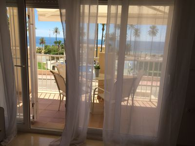 Photo for PENTHOUSE WITH MEDITERRANEAN SEA VIEWS