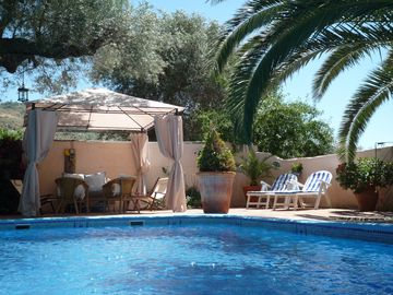 Beautiful Villa with Private Walled and Gated Pool, Stunning Gardens & WiFi