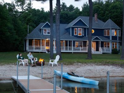 Photo for Spacious Family Retreat on Pristine Crescent Lake in Southern Maine