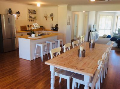 Open plan living to relax in and share the good times.
