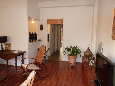 Photo for NICE CENTRE 2 rooms (sleeps 4) terrace - quiet - Parking - WIF