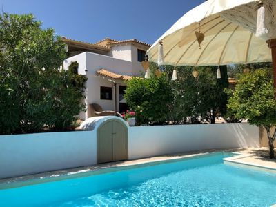 Photo for Enjoy in studio Azure with swimming pool at Villa Zizani in the Peloponnese.