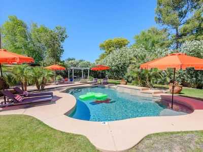 Photo for Private Pool & Large Yard, Less than 10 Mins to Phoenix Open & Barrett Jackson