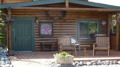 Photo for 3 BR, 2 BR Alaskan Log Cabin