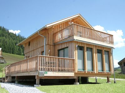 Photo for Luxury wooden chalet with wellness, 300m from the lift at 1300m altitude