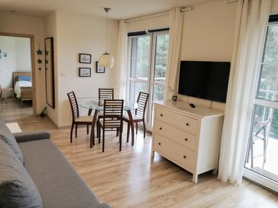 Photo for Sea view Comfortable holiday home (4 pers.) - ins. Usedom; Quiet location you. at the beach
