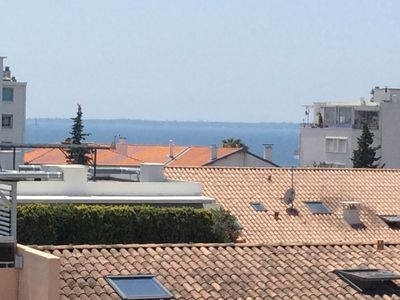 Photo for Studio Juan les Pins 5 mins walk from the sea and 15mins from Cannes by car.