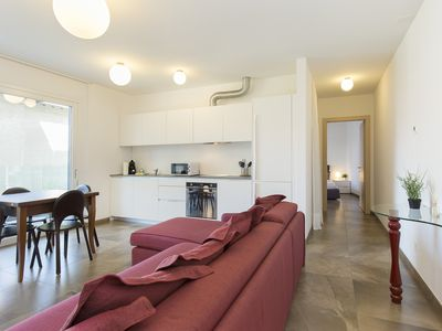 Photo for Beautiful One-Room Apartment with a Wonderful Terrace - ROGGIA 10