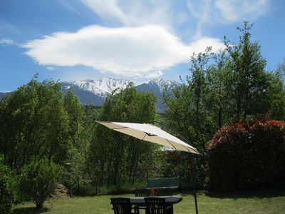 Photo for Large Apartment, Canigou View, Private Garden, WIFI, Quiet