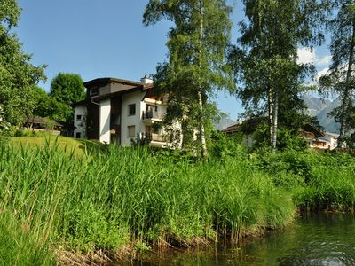 Photo for 4.5 room apartment in Laax directly by Laaxersee