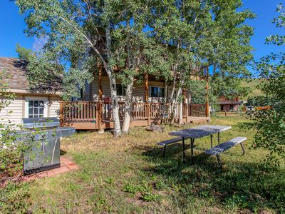 Photo for Dog-friendly alpine getaway w/ a great location near the Dillon Reservoir!