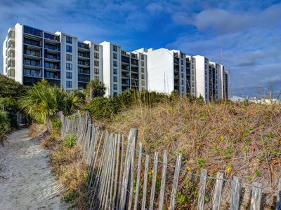Photo for Station One-5B Mountjoy-Oceanfront condo with community pool, tennis, beach