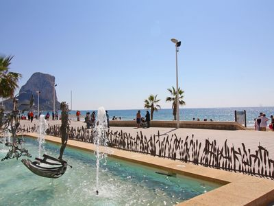 Photo for 2 bedroom Apartment, sleeps 5 in Calpe with Pool, Air Con and WiFi