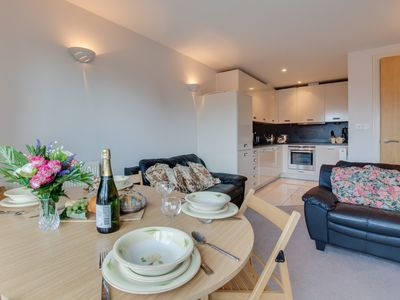 Photo for 13 Rhodewood Apartment set in the busy town of Saundersfoot on the Pembrokeshire coast. The small vi