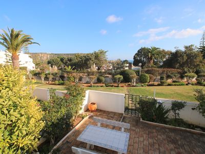 Photo for Cosy 2 bedroom apartment with a nice garden and a litle bit of sea view