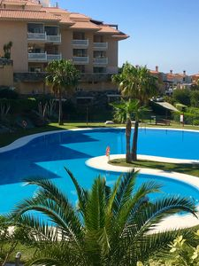Photo for Higuerón! Sunny Apartment- Terrace- Wi-fi- Parking- Pools.