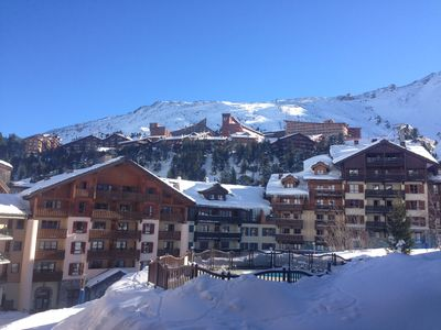 Photo for Fantastic 2 bedroomed apartment overlooking slopes