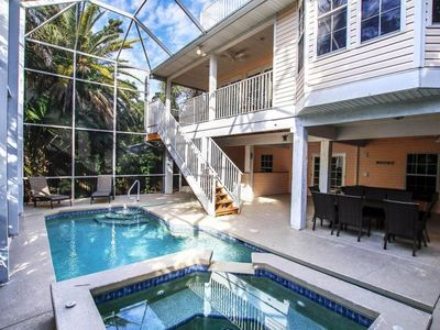 Photo for Beautifully renovated pool home in the Village area of Captiva