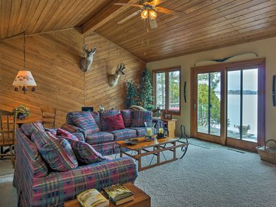 Photo for NEW! Lakefront Home w/ Dock, Boat Lift & Views!