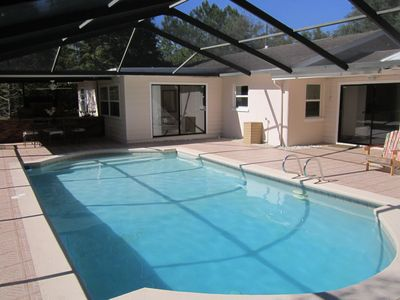 Photo for Lutz Cottage - Pool / Beaches / Busch Gardens / Disney / USF / Pets