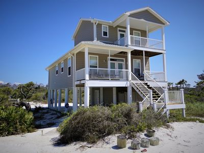 Photo for New Listing! Family Beach Retreat, gulf view, private beach access.