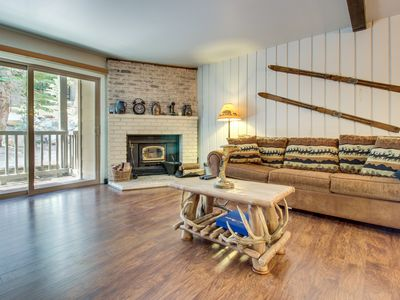 Photo for Spacious condo w/ shared pool, hot tub, and sauna - short walk to the slopes!