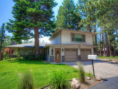 Photo for Meadow View w/Fire Pit, Hot Tub, BBQ, Foosball, Fireplace, in Town (CYH1282)