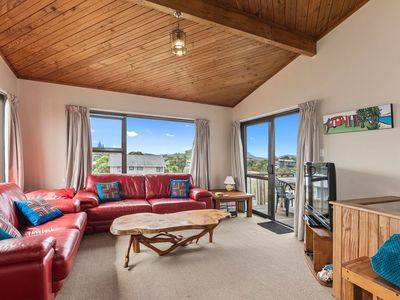 Photo for Spacious Family Bach by the Sea - Ruakaka Holiday Home