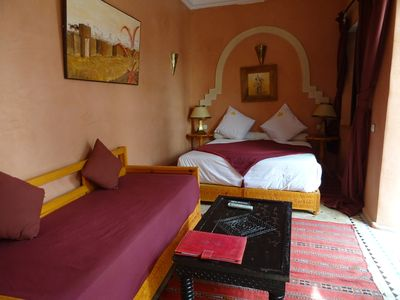 Photo for Charming guest room in the heart of the Medina of Marrakech