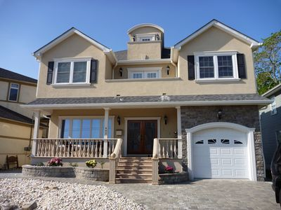 Photo for Brand New,Luxury Lake View Home/ Private Beach family beach vacation home now!