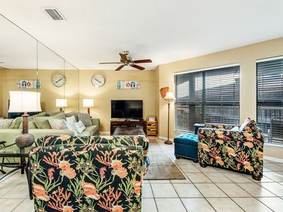 Photo for Sandpiper 2C ~ Beachside Condo with Palm Tree Views~Bender Vacation Rentals