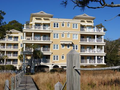 Daufuskie-Direct Oceanfront Condo $100 Cart Credit and FREE land transport