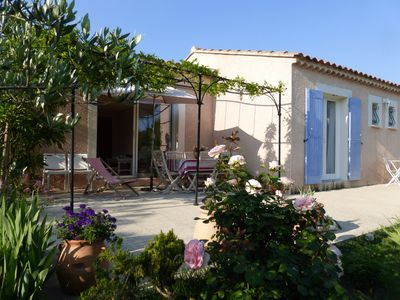 Photo for House Drôme Provençal 6 people with terrace, garden, barbecue, WiFi.