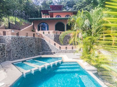 Photo for Private Jungle Palace with Designer Pool - 4 bedroom