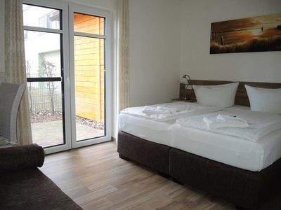 Photo for Double Room with Terrace - Usedom Bike-Hotel & Suites *** 80 m to the Baltic Sea beach