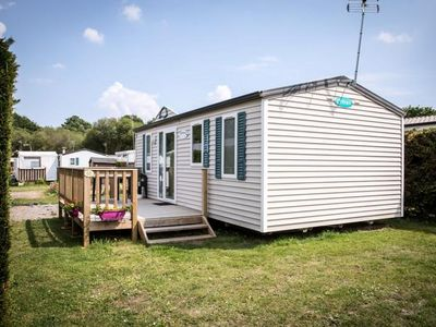 Photo for Camping Kernodet Island *** - Mobil Home Ohara 3 Rooms 4 People