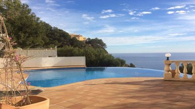 Photo for Beautiful house with sea views in the district of Balcon al Mar, in a quiet position on slope.