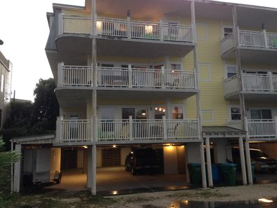 Spacious Family Friendly Condo with Ocean View only a few steps to the beach