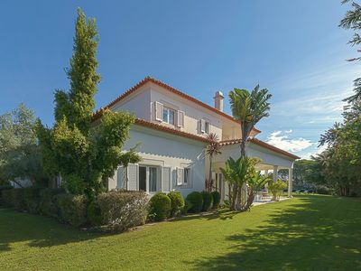 Photo for ESTORIL-LISBON 5 BD VILLA  IN GATED COMMUNITY WITH POOL,TENNIS, GYM , GOLF
