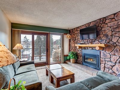 Photo for Excellent Breckenridge location, 1 Block from Main St., Hot tub, Stunning Views!